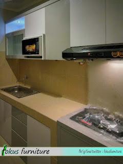 Model kitchenset minimalis