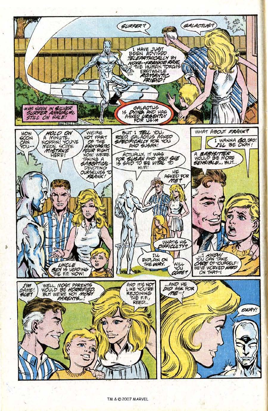 Read online Silver Surfer (1987) comic -  Issue #15 - 4