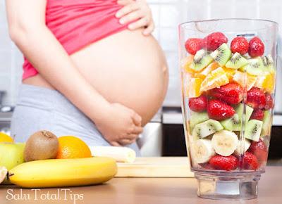 Este es uno de los jugos nutritivos para embarazadas que más te recomiendo, este es un batido delicioso para las mujeres que están en proceso de gestación