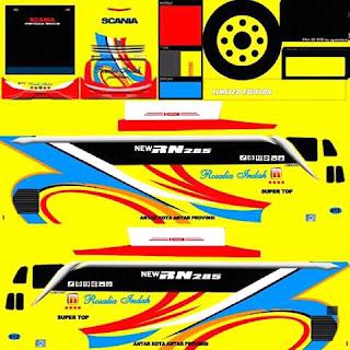 Download Livery Bus Rosalia Indah