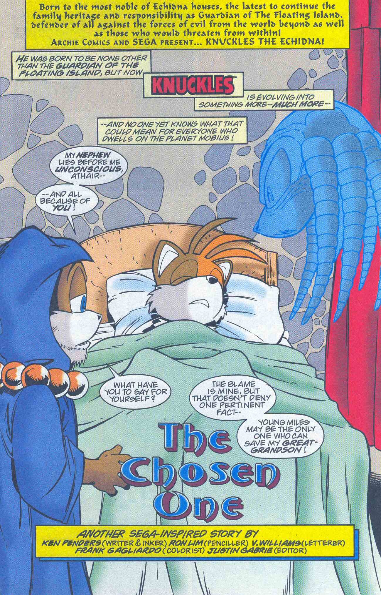 Read online Sonic The Hedgehog comic -  Issue #96 - 18