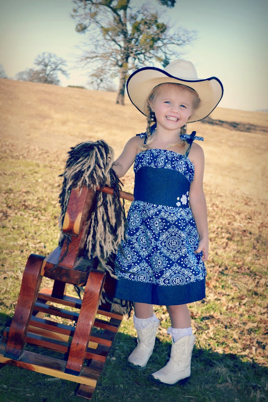 My sweet little cowgirl! (Octavia's CKC)