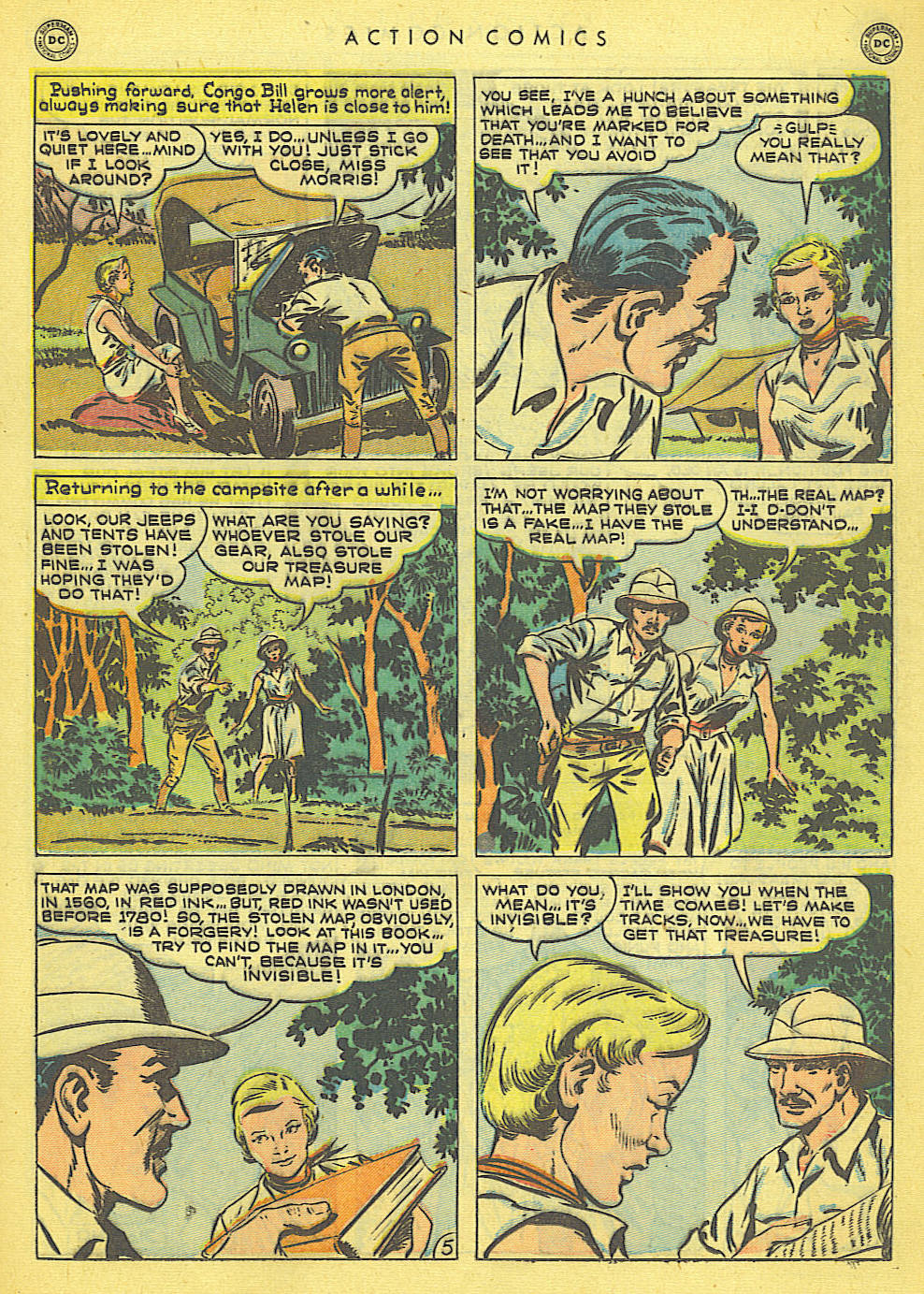 Read online Action Comics (1938) comic -  Issue #152 - 31