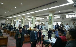 Wakil Ketua DPRD  Antar Waktu Dilantik