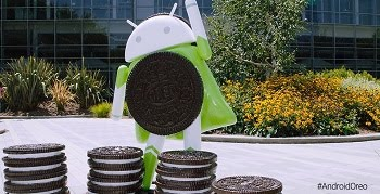 Patung Android Oreo