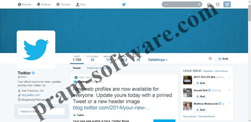 Cara Mengubah Tampilan Baru Twitter 2014
