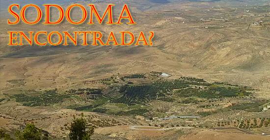 Cidade bíblica de Sodoma encontrada? Arqueólogos afirmam que sim...