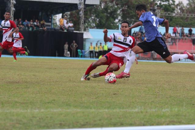 Bungkam Aceh, Sepak Bola Babel Lolos PON XIX Jawa Barat