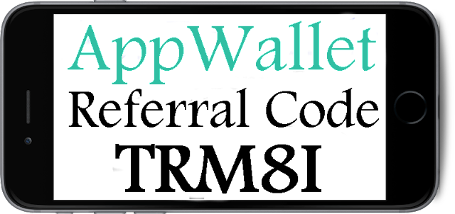 AppWallet Referral Code 2016-2017, AppWallet Iphone App, AppWallet Refer A Friend