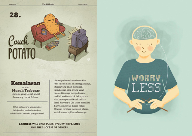 VISUAL MOTIVATION BUKU THINK FRESH! DANNY OEI WIRIANTO