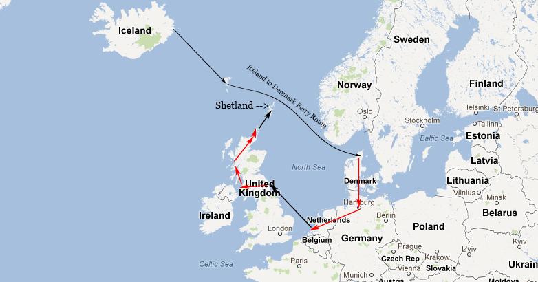 David Rowley The Long Way To Shetland