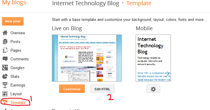 Optimize Blogger Template To Rank Blog Post Title In Search Engine