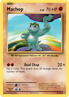 Machop XY Evolutions Pokemon Card