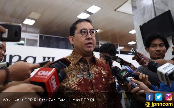 Fadli Zon Bikin Puisi Lagi, Judulnya Sontoloyo
