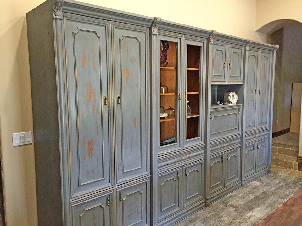 Unfinished Birch Kitchen Base Cabinets