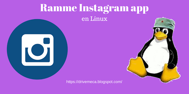 Como instalar Ramme Instagram app en Linux