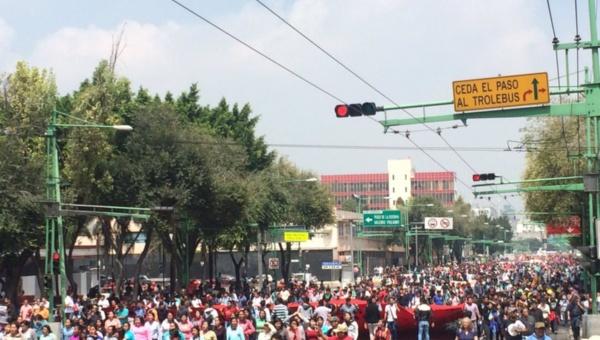 Denuncian impunidad a 48 años de matanza de Tlatelolco, México