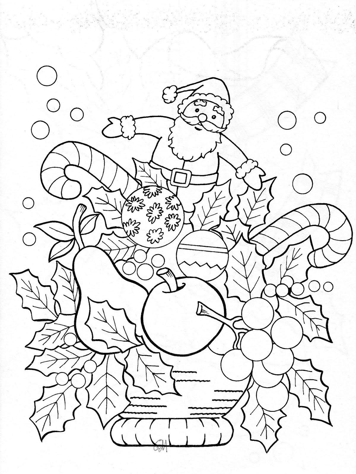 Ausmalbilder Weihnachten - Weihnachten zum Ausmalen