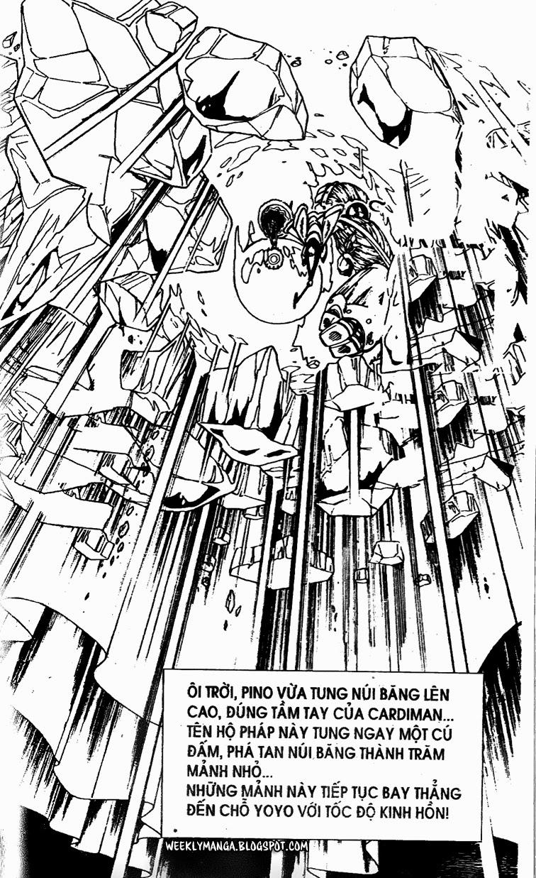 Shaman King [Vua pháp thuật] chap 134 trang 15