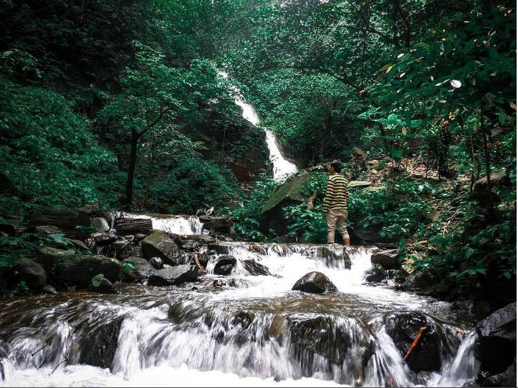 Rute dan lokasi air terjun selolapis wonosalam jombang