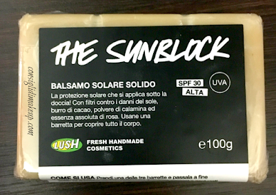 Review: The Sunblock Balsamo Solare Solido SPF30 - Lush