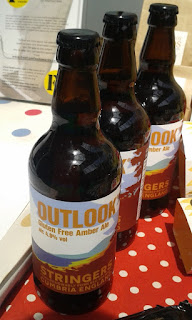 Stringer's Outlook gluten free ale, one of the GF beers I'm yet to try