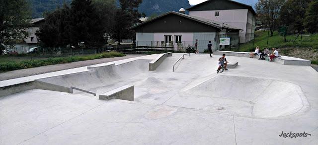 Nouveau Skatepark Ugine