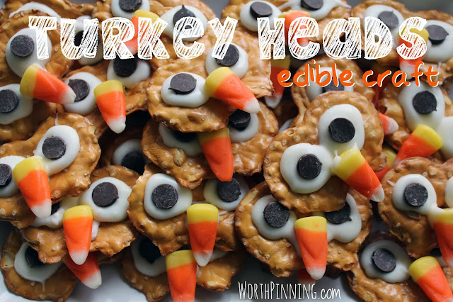 Edible Thanksgiving Day Crafts