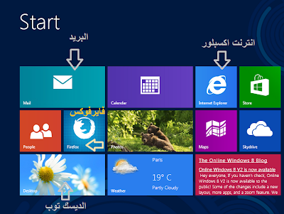 windows 8 start metro