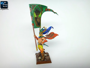 Wood Elves Standard Bearer conversion