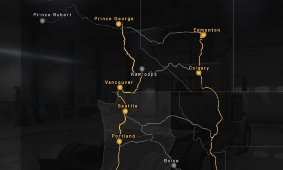 American Truck Simulator Mexuscan v 1.3 Mod Map Download MODs