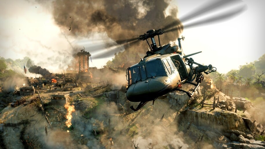 Call of Duty, Black Ops Cold War, Helicopter, 4K, #7.2542