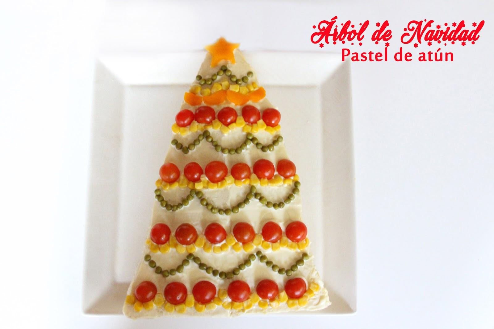 Mardefiesta Pastel De Atun Arbol De Navidad