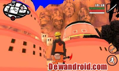 GTA San Andreas Mod Naruto Shippuden Jutsu Pack untuk Android