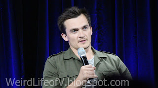 Rupert Friend- Hitman 47 panel at Nerd HQ - Outside  San Diego Comic Con 2015