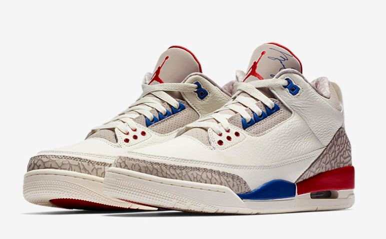 92a479989b7 Here is a look at the Air Jordan 3 Retro 'International Flight' Shoes  Available at 10 AM EST HERE at Villa, HERE at Kicksusa, HERE at Nice Kicks  & HERE at ...