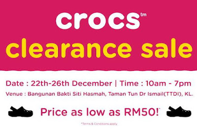 Crocs Clearance Sale Discount Offer