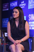 Actress Shraddha Srinath Stills in Black Short Dress at SIIMA Short Film Awards 2017 .COM 0042.JPG