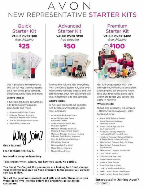 Join Melanie's Avon Team