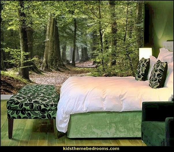 Decorating theme bedrooms - Maries Manor: Tree Murals - tree wall decals - tree wall murals ...