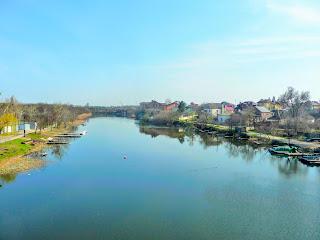 Новомосковск. Река Самара