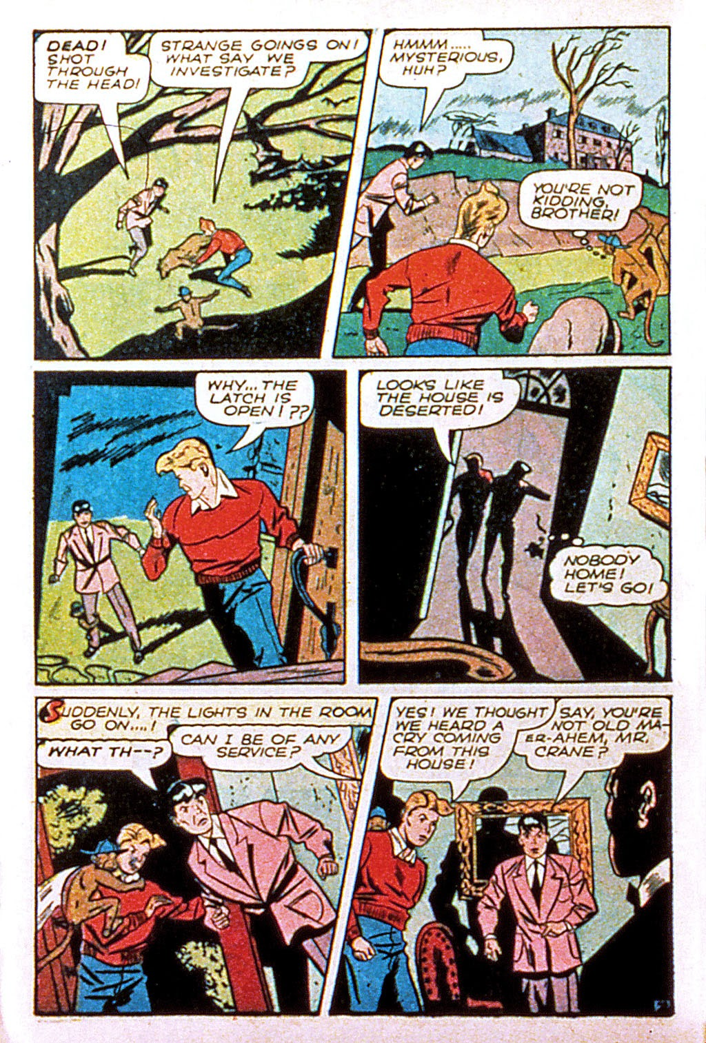 Read online Mystic Comics (1944) comic -  Issue #1 - 44