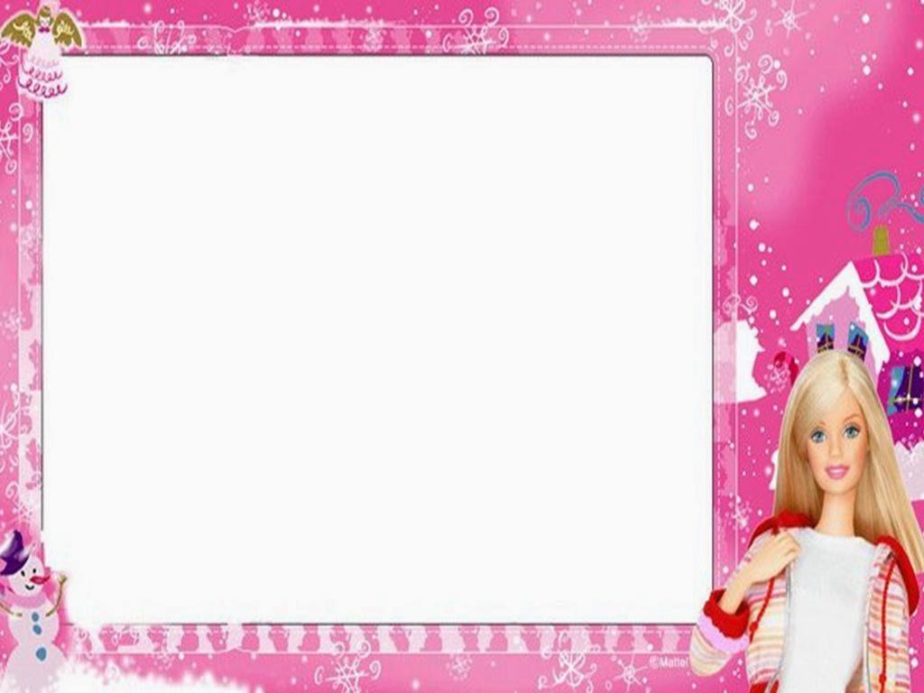 Excelente Plantilla De Invitación Barbie Ideas - Colección De ...