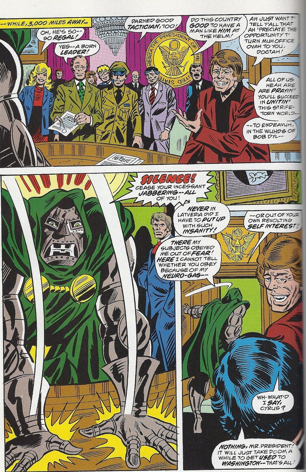 Dr. Doom V Jimmy Carter!