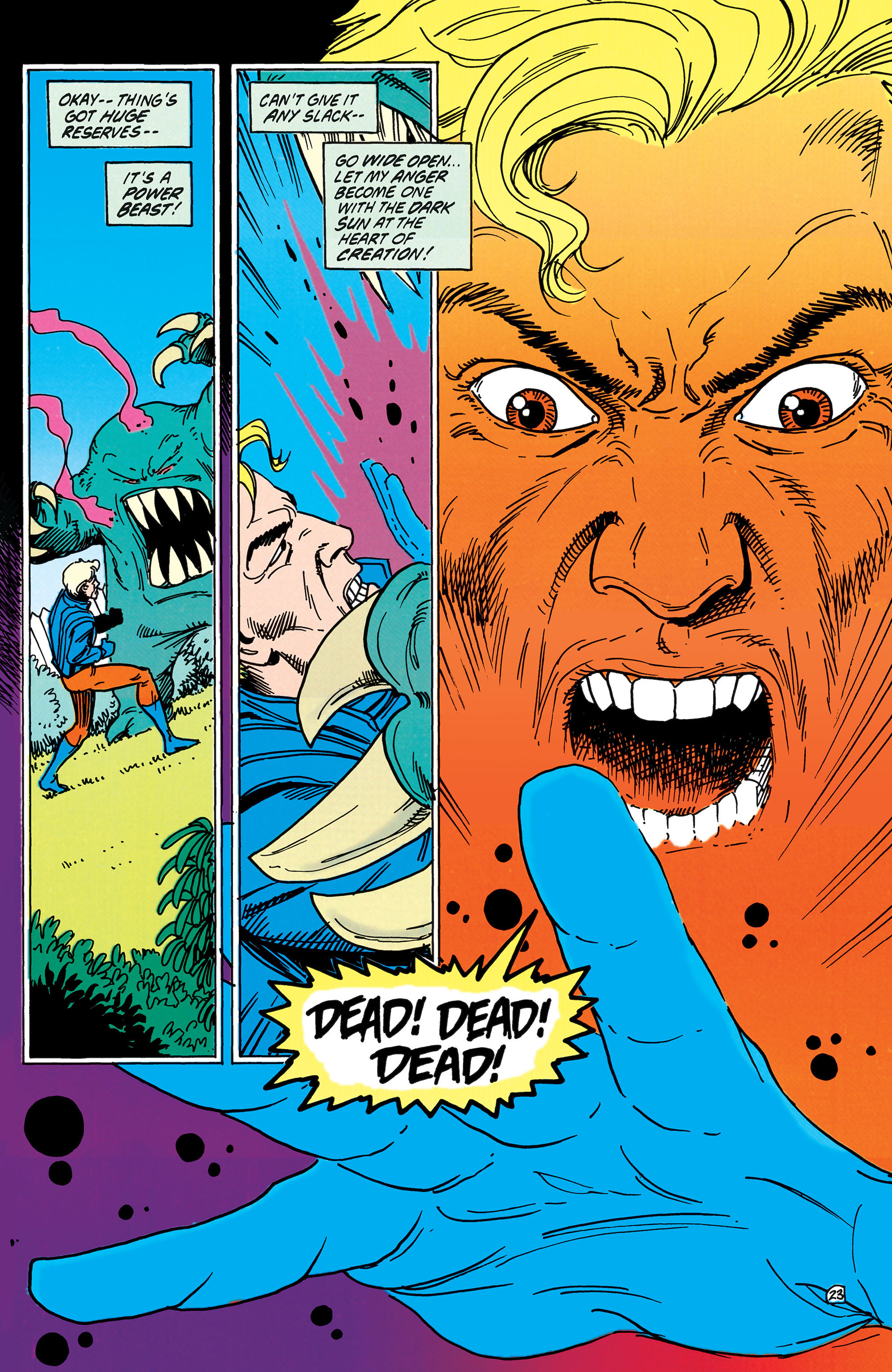 Read online Animal Man (1988) comic -  Issue #38 - 24