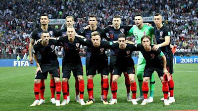 2018FIFAワールドカップ イングランド対クロアチア