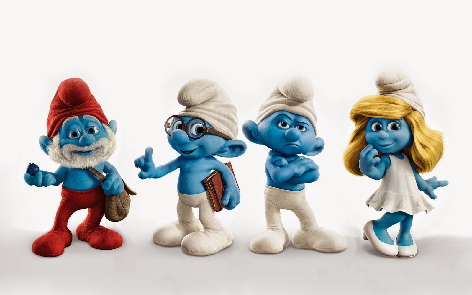 Kumpulan Gambar The Smurfs Gambar Lucu Terbaru Cartoon Animation