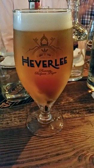 A pint of Herverlee beer.