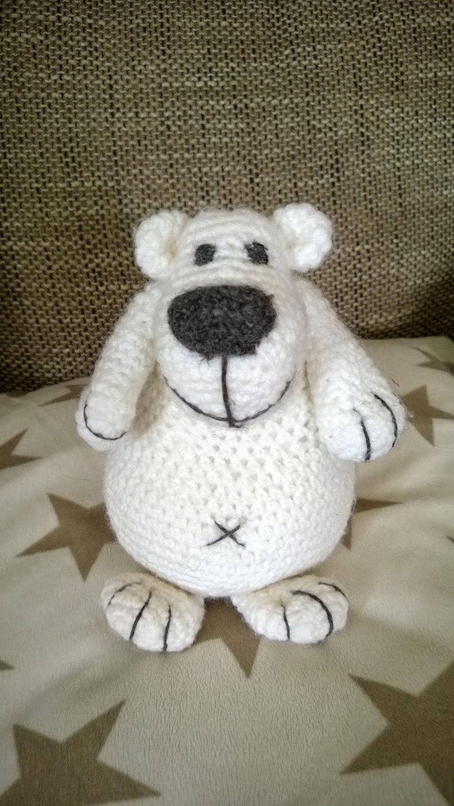 Amigurumi Eisbär