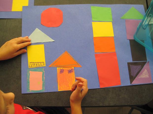 Zilker Elementary Art Class 1st Grade Paul Klee Collages
